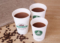 China To Go Paper Drinking Cup / Food Grade Disposable Paper Coffee Cups factory