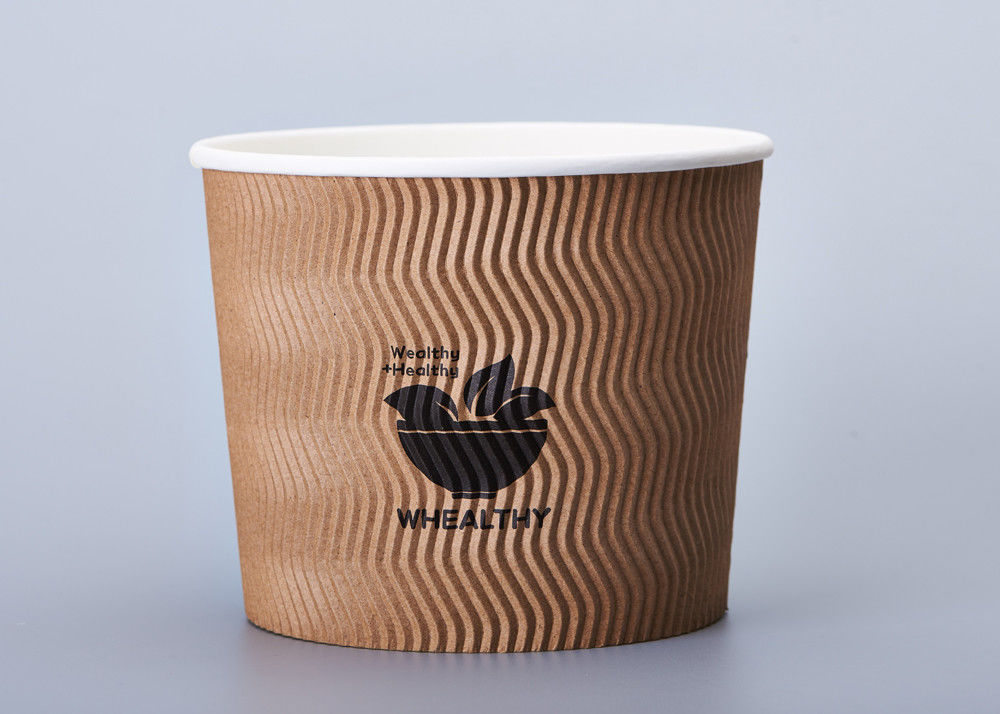 Food Grade To Go Disposable Paper Bowls For Restaurant 12oz 16oz 24oz