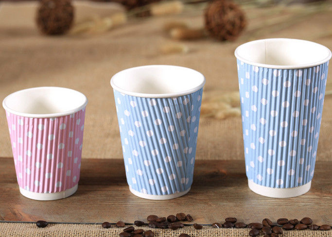 disposable paper tea cups takeaway printed paper coffee cups