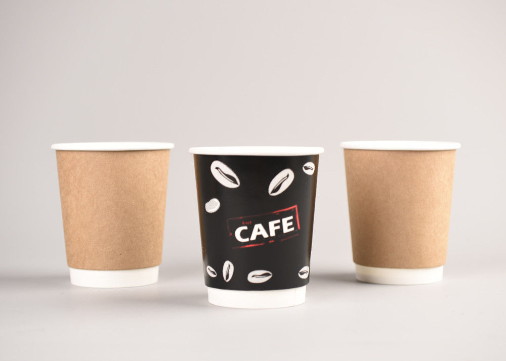 51d41a52fe8 Customized Printed Double Wall Paper Cups For Hot Beverages Color OEM
