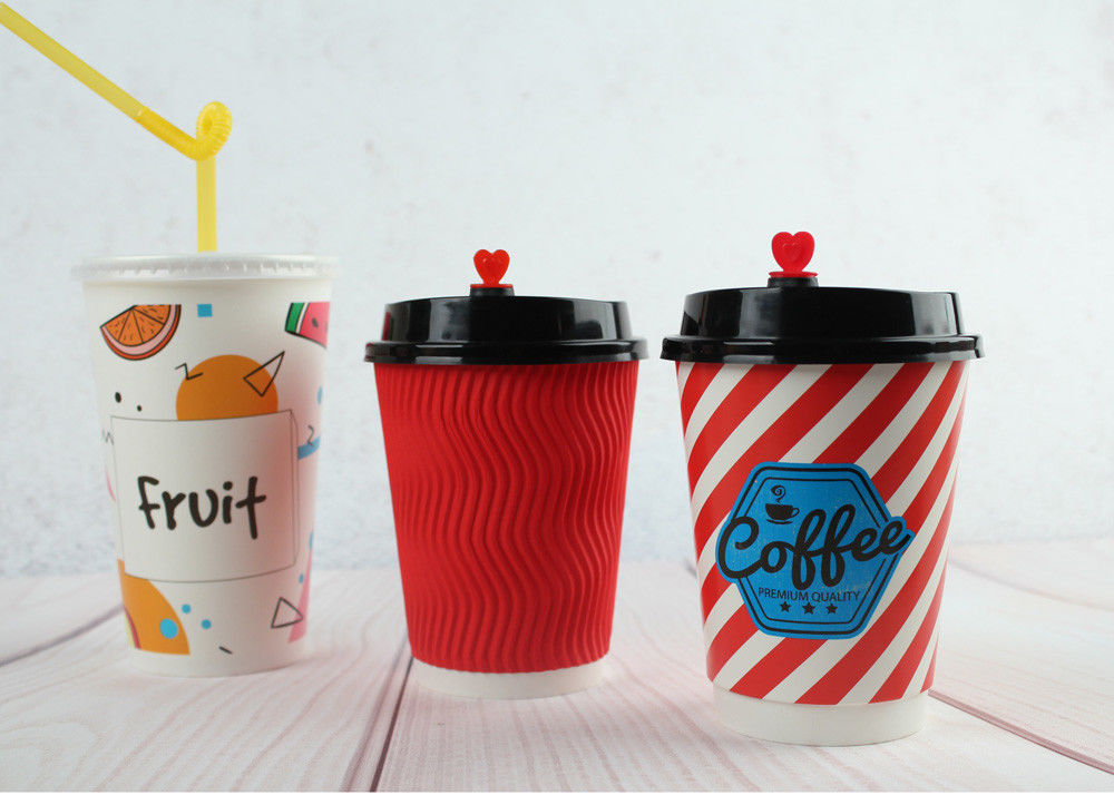Custom Printed Coffee Cups / Insulated Hot Beverage Cups / Juice Cups