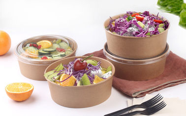 China 22oz 24oz Disposable Soup Bowls For Takeaway Foods With Eco - Freindly Ink factory