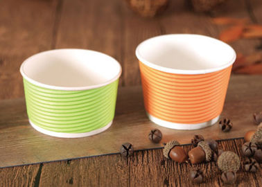 Double Wall Takwaway Paper Soup Cups Food Container Eco Friendly