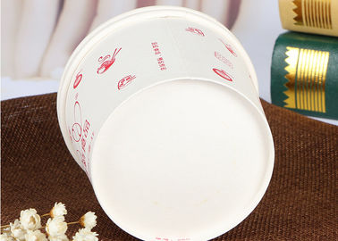 China Eco Friendly Disposable Paper Bowls , To Go Soup Bowls 6- Colour Printing factory