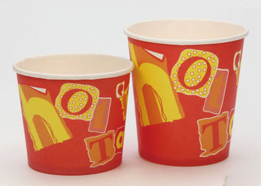 China Food Grade Disposable Christmas Soup Bowls With Lids FDA Approved Paper factory