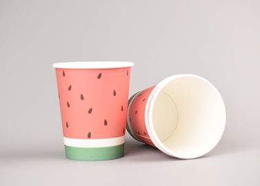 Various Sizes Takeaway Disposable Paper Cups , To Go Coffee Cups Full Colour Print
